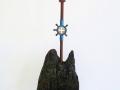Ein Stern über dem Gebirge, 2008, Höhe 75 cm